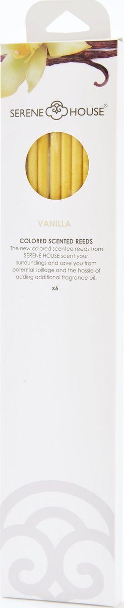 Палочки ароматические Serene House Мексиканская ваниль, 6 шт152505036Одна из самых популярных пряностей в мире. Она хороша чистом виде. Ее аромат невероятно коммуникабелен - он легко впишется в любую обстановку, неизменно принося с собой тепло и уют.