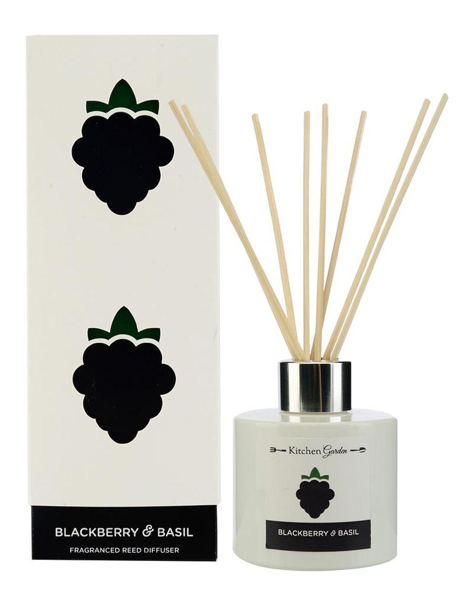 Диффузор ароматический Wax Lyrical Ежевика и базилик, 100 млKG0101Аромат, состоящий из сочной ежевики и спелых плодов яблоневого и грушевого деревьев, богащённый травянистым оттенком базилика.