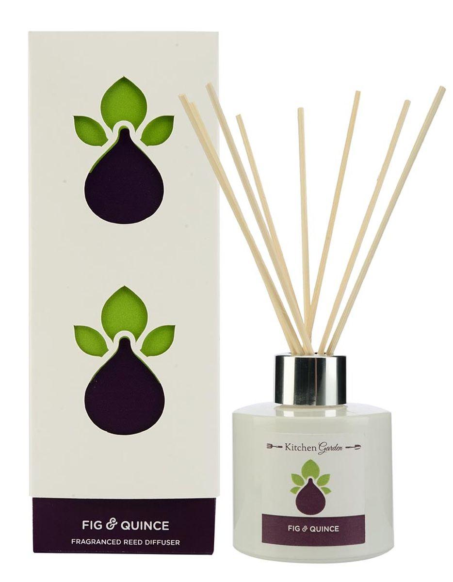 Диффузор ароматический Wax Lyrical Инжир и айва, 100 млKG0102Аромат совмещает в себе древесные и цветочные ноты, в сочетании с фруктово-ягодным миксом из яблока, малины и, конечно, смоковицы и айвы.