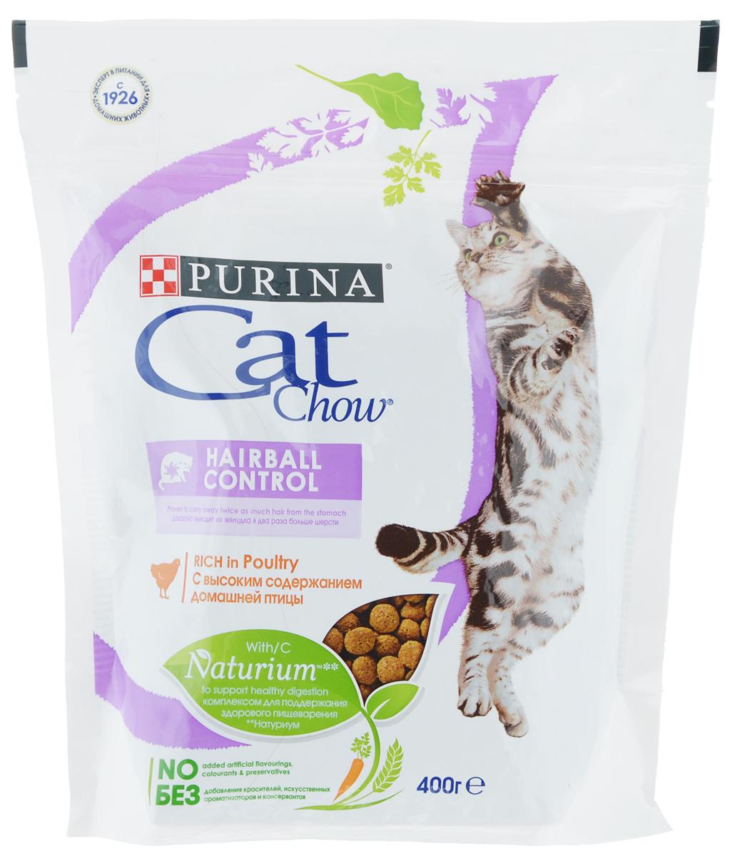 Корм сухой Cat Chow, контроль образования комков шерсти, с домашней птицей, 400 г12267402Сухой корм Cat Chow - это особое сочетание волокон природного происхождения. Он включает источник натурального пребиотика, который улучшает баланс микрофлоры кишечника и поддерживает здоровье пищеварительной системы кошки. Это позволяет ей питаться с большей пользой. В состав корма входит витамин E для поддержания естественной защиты организма кошки и витаминами группы B, чтобы помочь вашей кошке оптимально использовать энергию. В состав специально включены источники клетчатки, которые выводят из желудка в два раза больше волосков шерсти. В особенности подходит для кошек, живущих дома. Без добавления искусственных консервантов. Без добавления красителей. Без добавления искусственных ароматизаторов. Товар сертифицирован.
