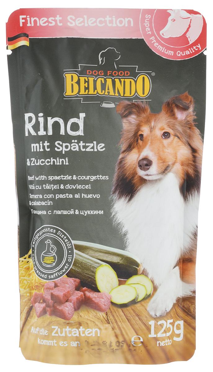 Консервы для собак Belcando, с говядиной, лапшой и цуккини, 125 г. 4335043350_говядина/цукиниКонсервы для собак Belcando - это великолепная рецептура в практичной индивидуальной порции. Сочное мясо в сочетании с изысканными ингредиентами бережно готовится в порционных пакетиках. Консервы для собак Belcando является натуральным продуктом и готовится без применения ароматических веществ, красителей и консервантов. Товар сертифицирован.