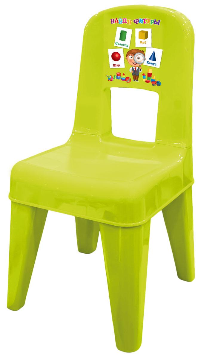 Стул детский Little Angel Обучайка. Я расту, цвет: салатовыйLA4512ОБСЛДетский стул от Little Angel Я расту с обучающей игрой. Уникальный декор в легкой игровой форме позволит выучить основные объемные фигуры, а также закрепить знания цветов. Стул Little Angel разработан с учетом всех анатомических особенностей малыша. Высокая спинка повторяет контуры спины и обеспечивает идеальную поддержку во время сидения. Закругленные углы сидения и ножек для безопасности малыша. Противоскользящие накладки на ножках для использования на любой поверхности. Особо прочная конструкция ножек стула для надежной и безопасной эксплуатации. Уникальный обучающий декор линии Обучайка разработан при участии педагогов ДОУ и детских психологов.