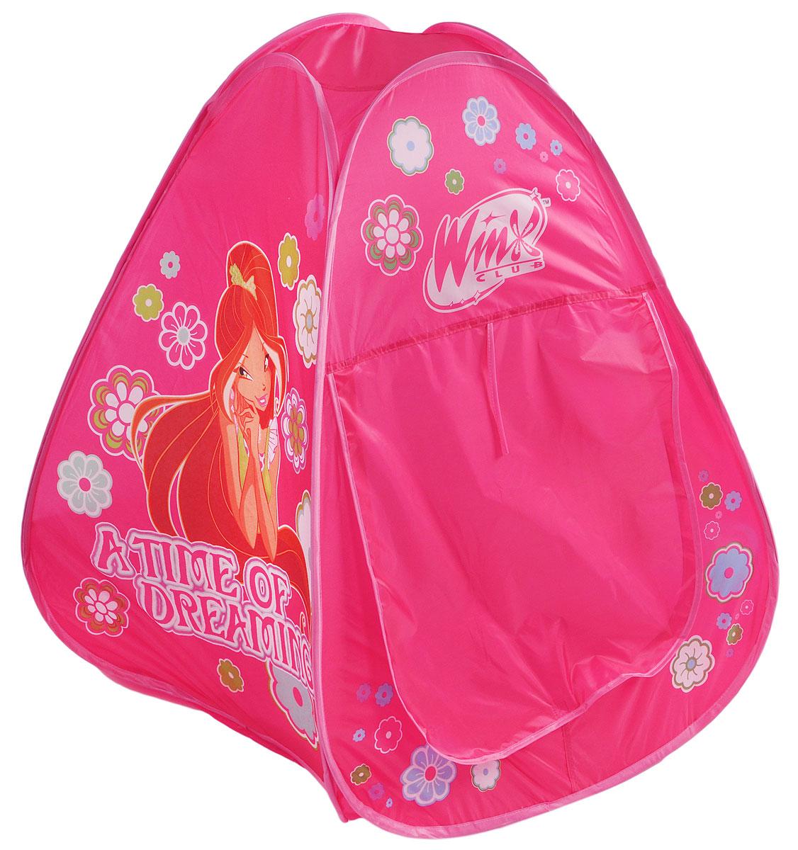1TOY Детская игровая палатка Winx Club 75 х 70 х 70 см