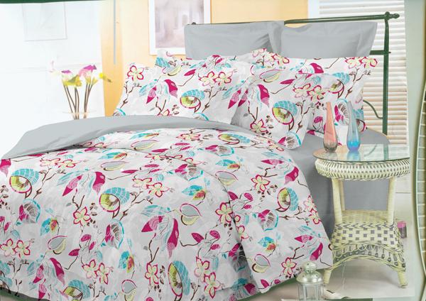 """Комплект белья Liya Home Collection """"Комфорт"""", 1,5-спальный, наволочки 70x70"""
