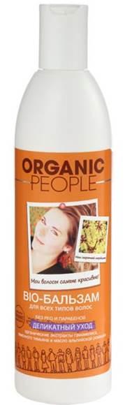 Organic People Бальзам-био для волос Деликатный уход, 360 мл