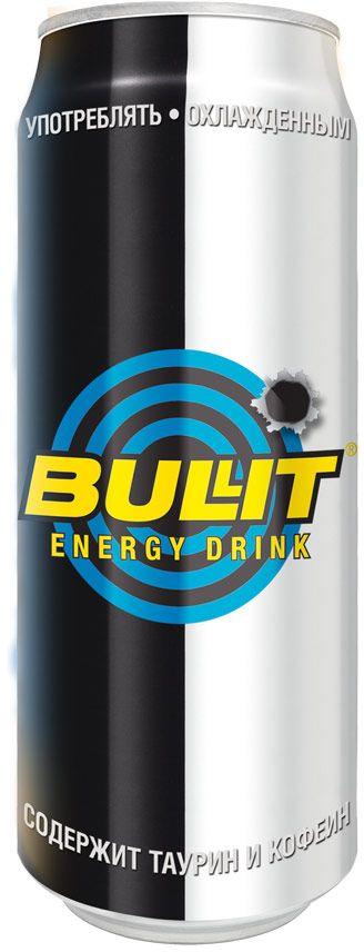 Bullit энергетический напиток, 500 мл9008703000090Безалкогольный тонизирующий (энергетический) газированный напиток, специально разработанный для лиц, подвергающихся значительным психо- эмоциональным и физическим нагрузкам. Он незаменим в самых разных ситуациях: при занятии спортом, напряженной работе, за рулем и на вечеринках. Повышает работоспособность, повышает концентрацию внимания и скорость реакции, поднимает настроение, ускоряет обмен веществ