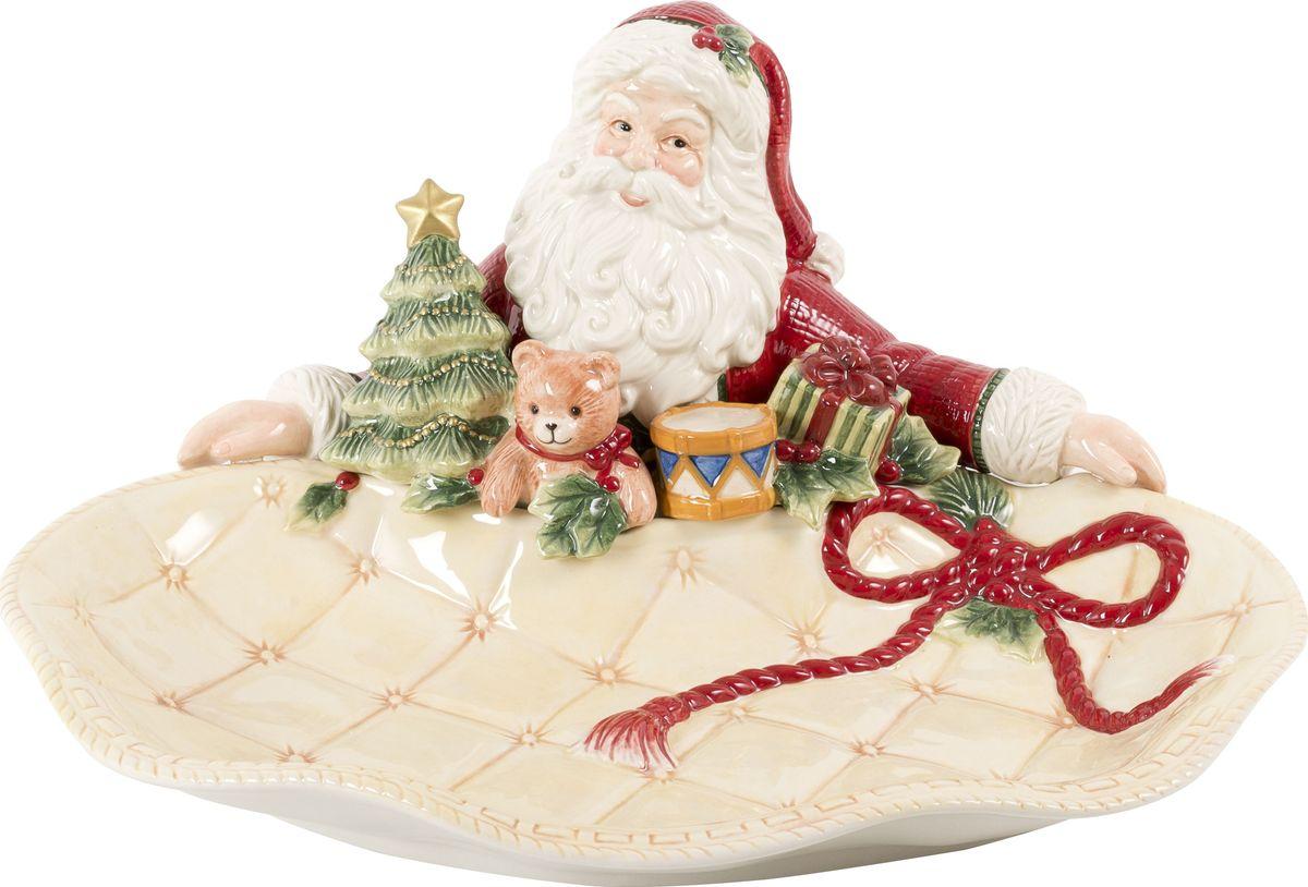 Блюдо Fitz and Floyd Ночь перед Рождеством, длина 34 см49-432Рекомендуется бережная ручная мойка с использованием безабразивных моющих средств.