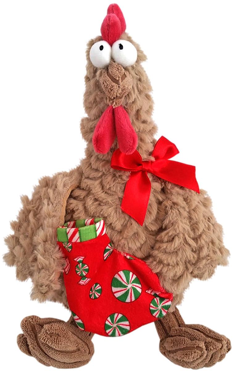 Fluffy Family Мягкая игрушка Петух новогодний цвет бежевый