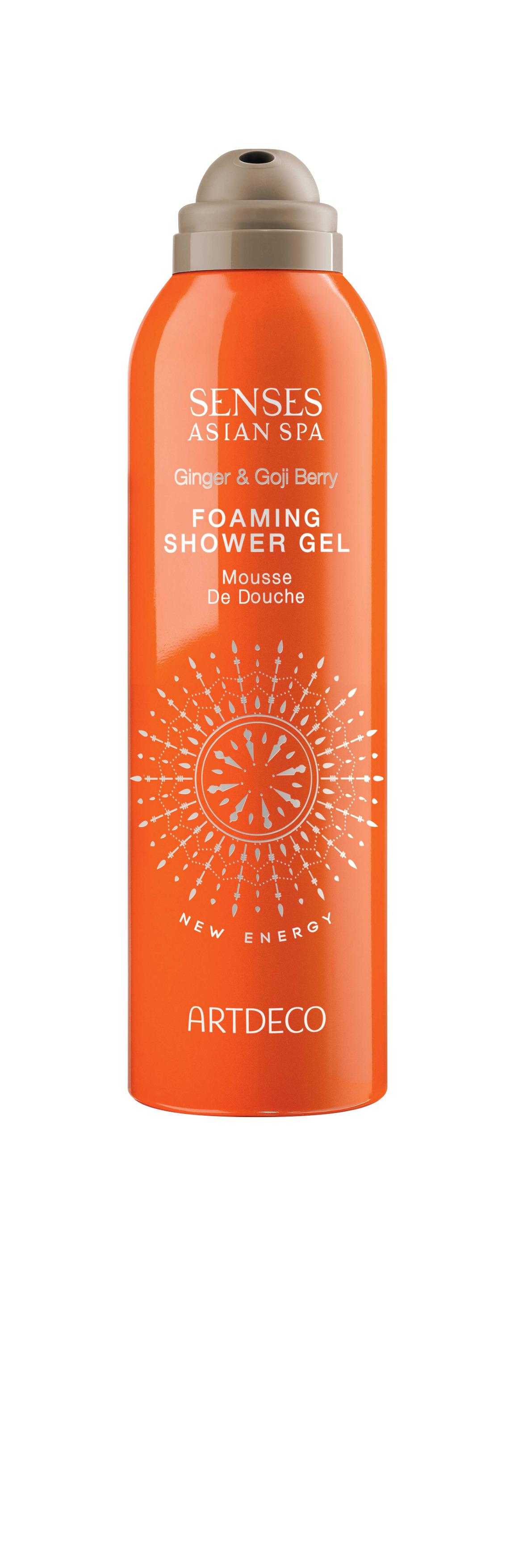Artdeco гель-пена для душа Foaming shower gel, new energy, 200 мл65100Пенящаяся и воздушная текстура Питает и увлажняет кожу