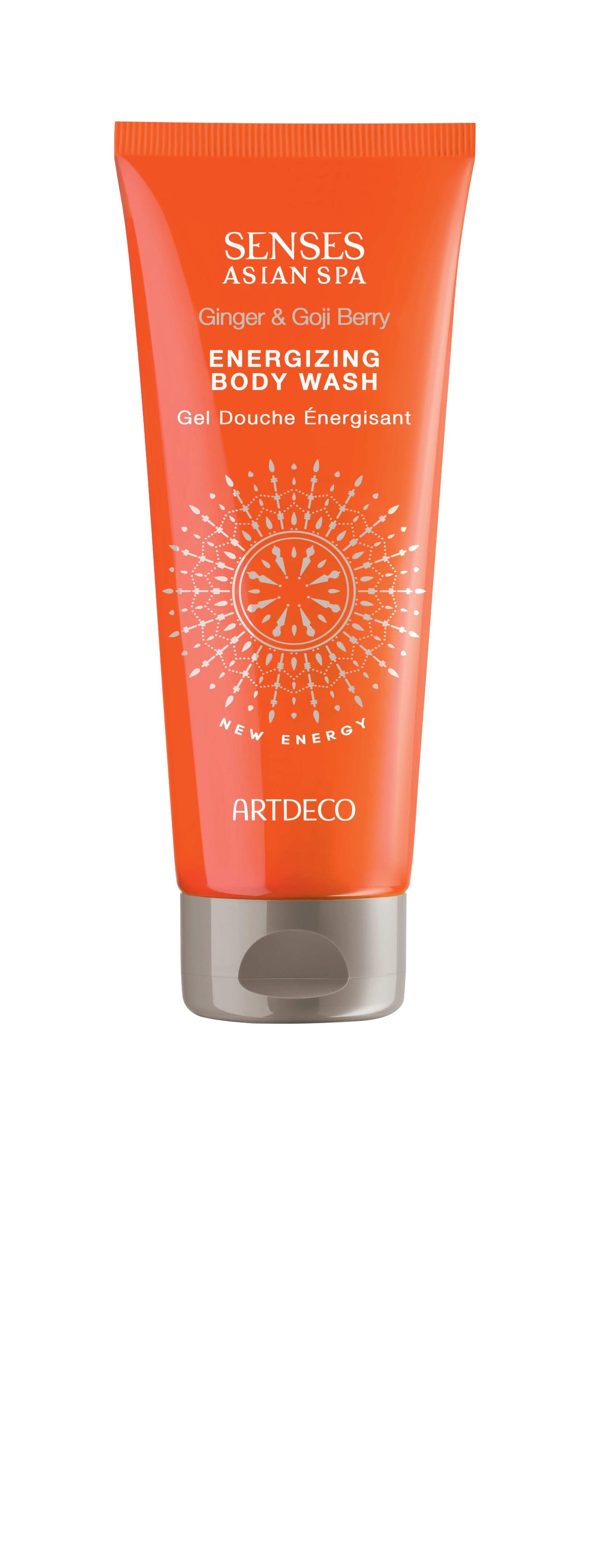 Artdeco гель для душа тонизирующий Energizing body wash, new energy, 200 мл65101Легкая бодрящая текстура Яркий аромат