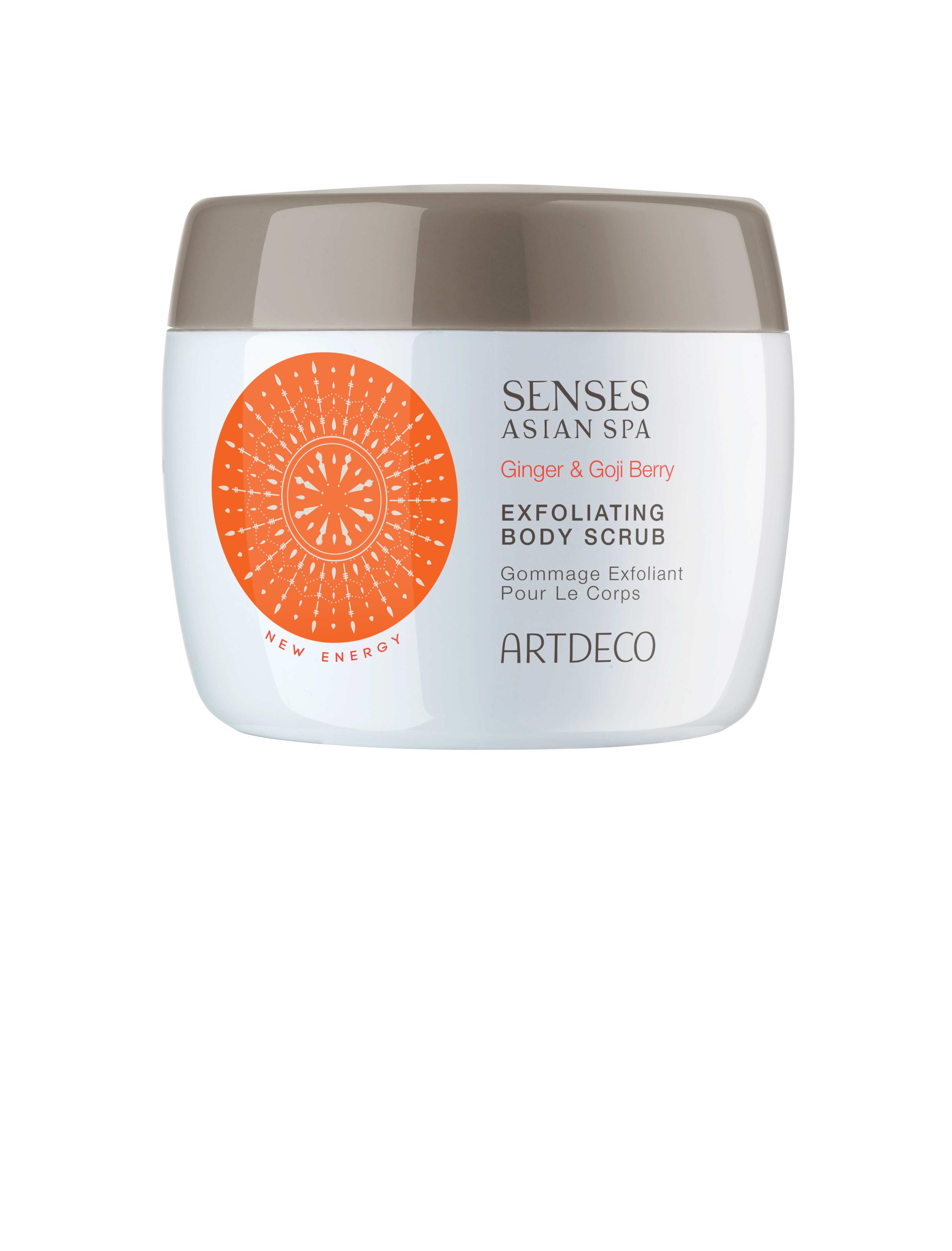 Artdeco скраб для тела отшелушивающий Exfoliating body scrub, new energy, 200 мл65102Бережно очищает и обновляет кожу С разглаживающим эффектом и бодрящим ароматом