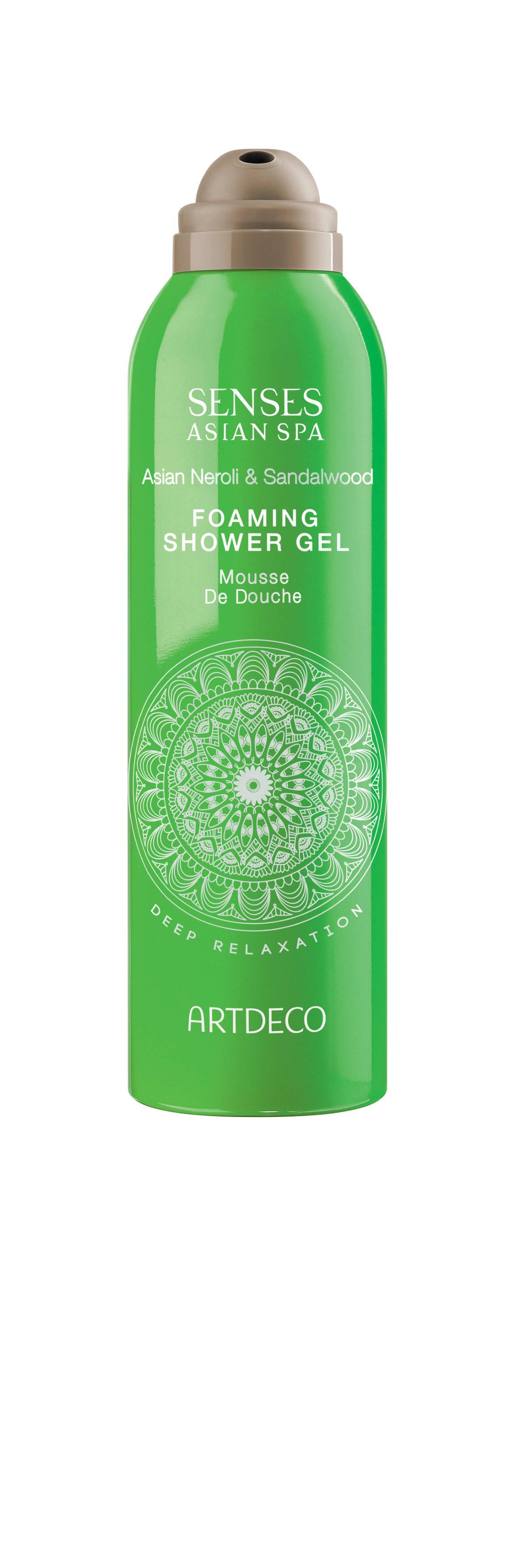 Artdeco гель-пена для душа Foaming shower gel, deep relaxation, 200 мл65200Нежно очищает кожу Успокаивающий эффект При контакте с водой становится воздушной пеной