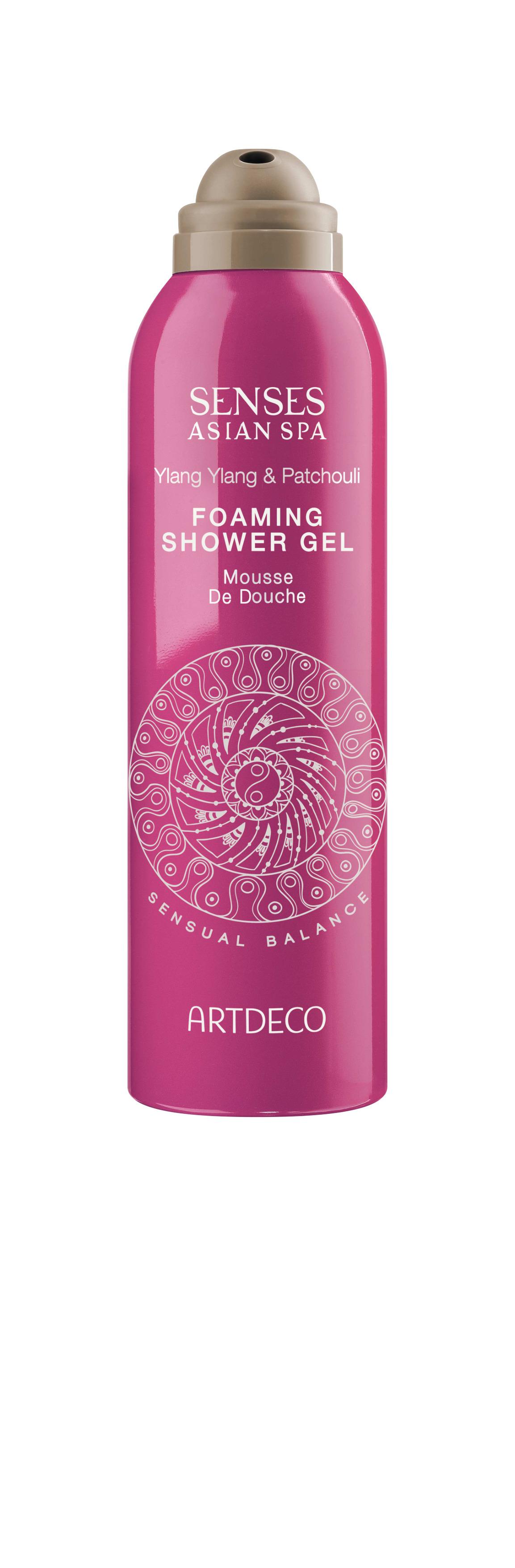 Artdeco гель-пена для душа Foaming shower gel, sensual balance, 200 мл65300Нежно очищает, увлажняет, питает и восстанавливает кожу При контакте с водой превращается в воздушную пену