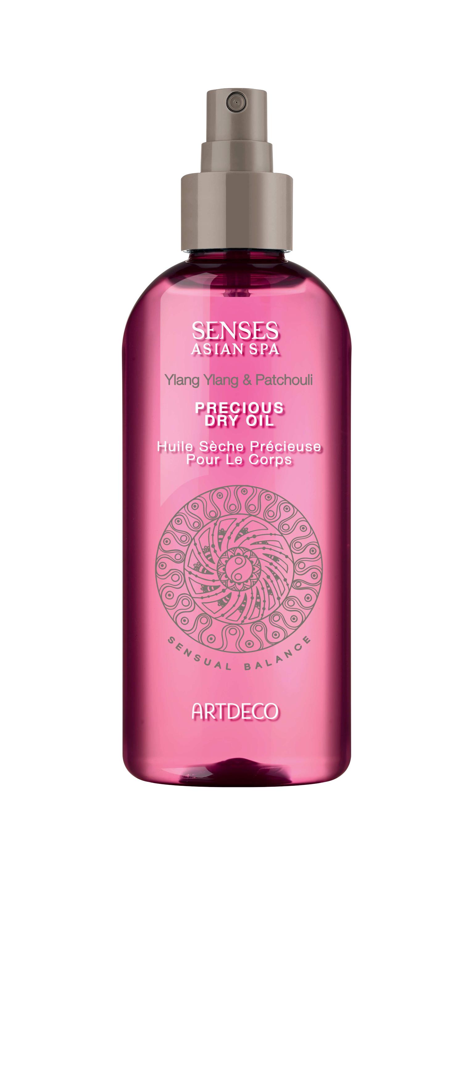 Artdeco масло для тела Precious dry body oil, sensual balance, 150 мл65304Глубоко увлажняет и питает кожу Расслабляет и приводит в тонус Можно использовать для массажа