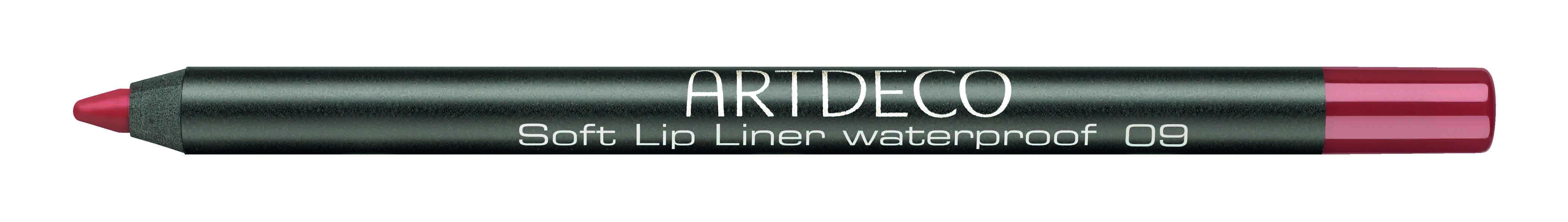 Artdeco карандаш для губ водостойкий 09 1,2г172.09Контур со стойкой текстурой и насыщенным цветом не позволяет растекаться помаде или блеску, помогает сделать чувственный макияж губ.