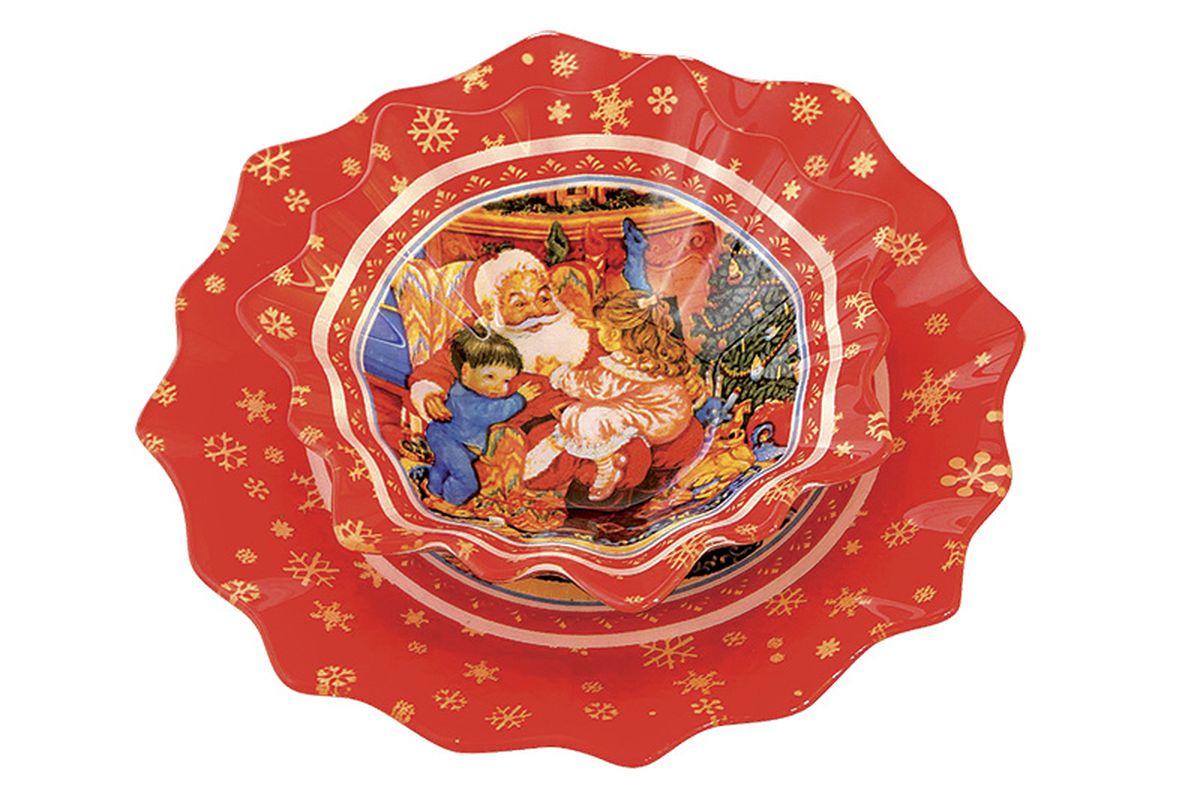 Набор посуды Korall  Рождество, 2 предметаS3005PB/2-P119