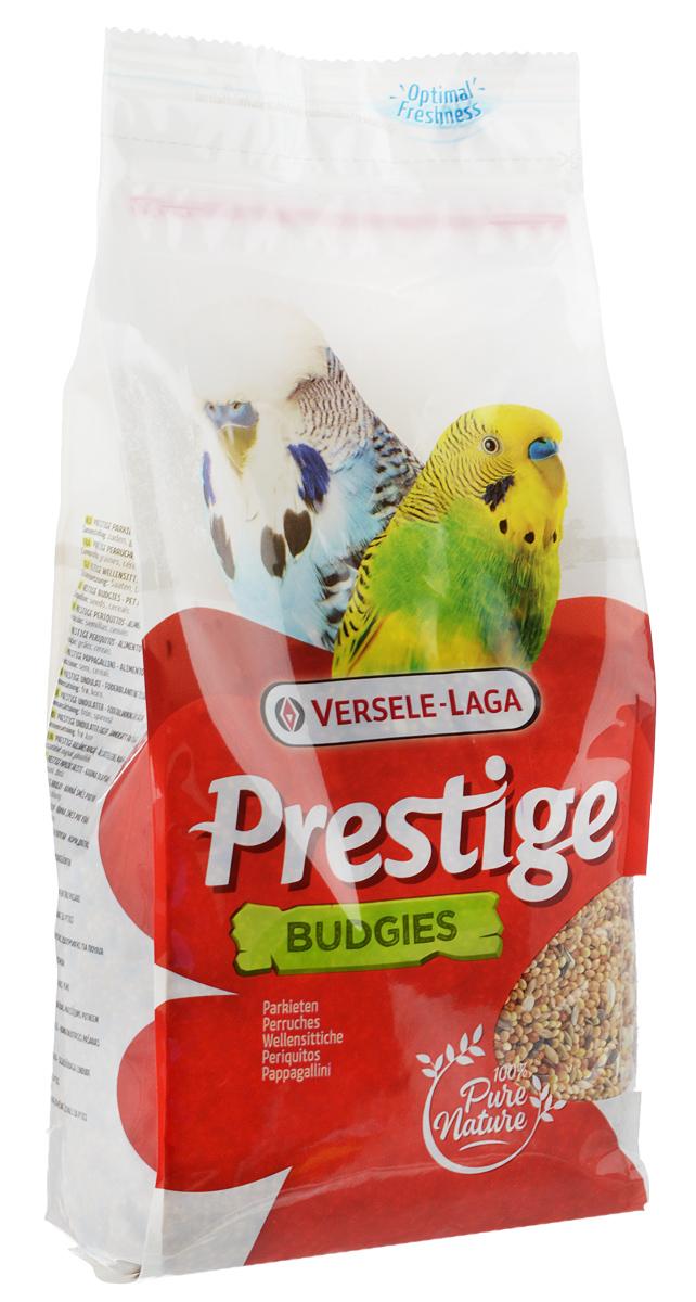 Корм для волнистых попугаев Versele-Laga Prestige Budgies, 1 кг421620Корм Versele-Laga Prestige Budgies - это традиционная полнорационная смесь для волнистых попугаев, а также других мелких попугаев. В состав данной высококачественной смеси входят разнообразные сбалансированные компоненты, особым образом подобранные в соответствии со специфическими пищевыми потребностями попугаев. Корм содержит просо, канареечное семя, очищенный овес, семена льна, сафлор для оптимальной кондиции и пищеварения. Товар сертифицирован.