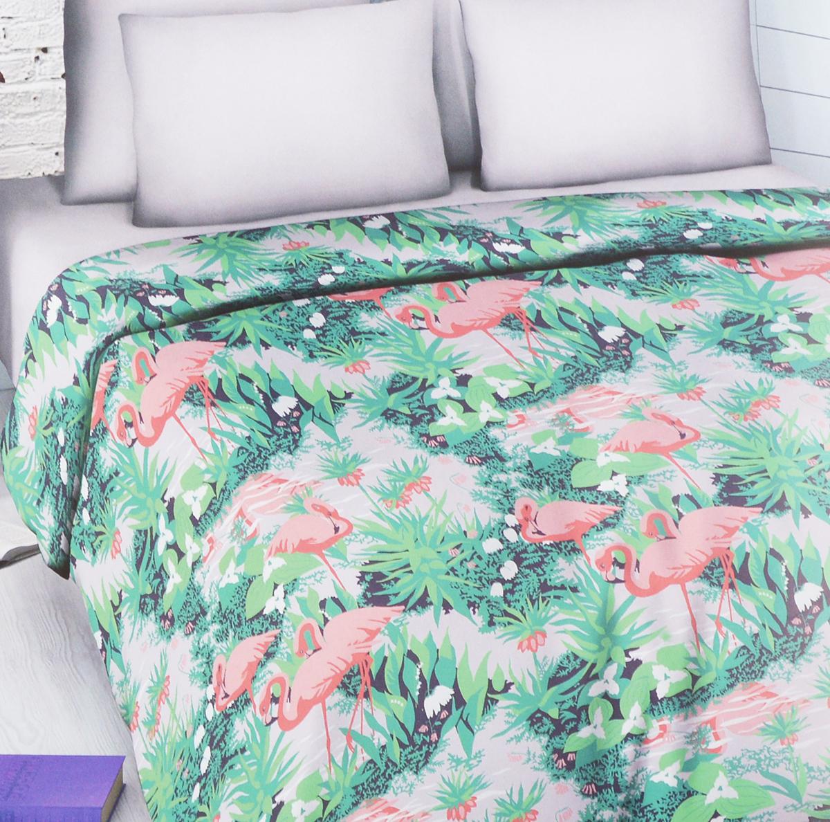 Комплект белья Василиса Фламинго, семейный, наволочки 70х705581/сКомплект белья Василиса Фламинго, выполненный из набивной бязи (100% хлопок), состоит из двух пододеяльников, простыни и двух наволочек. Бязь - хлопчатобумажная ткань полотняного переплетения без искусственных добавок. Большое количество нитей делает эту ткань более плотной, более долговечной. Высокая плотность ткани позволяет сохранить форму изделия, его первоначальные размеры и первозданный рисунок. Приобретая комплект постельного белья Василиса, вы можете быть уверенны в том, что покупка доставит вам и вашим близким удовольствие и подарит максимальный комфорт.
