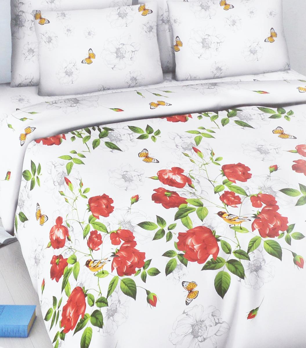 Комплект белья Василиса Свежесть утра, семейный, наволочки 70х705664/сКомплект белья Василиса Свежесть утра, выполненный из набивной бязи (100% хлопок), состоит из двух пододеяльников, простыни и двух наволочек. Бязь - хлопчатобумажная ткань полотняного переплетения без искусственных добавок. Большое количество нитей делает эту ткань более плотной, более долговечной. Высокая плотность ткани позволяет сохранить форму изделия, его первоначальные размеры и первозданный рисунок. Приобретая комплект постельного белья Василиса, вы можете быть уверенны в том, что покупка доставит вам и вашим близким удовольствие и подарит максимальный комфорт.