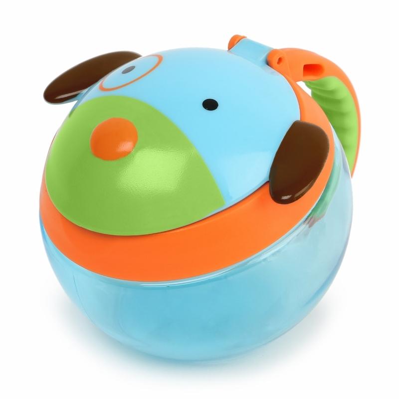 Skip Hop Контейнер-чашка для снеков Собака