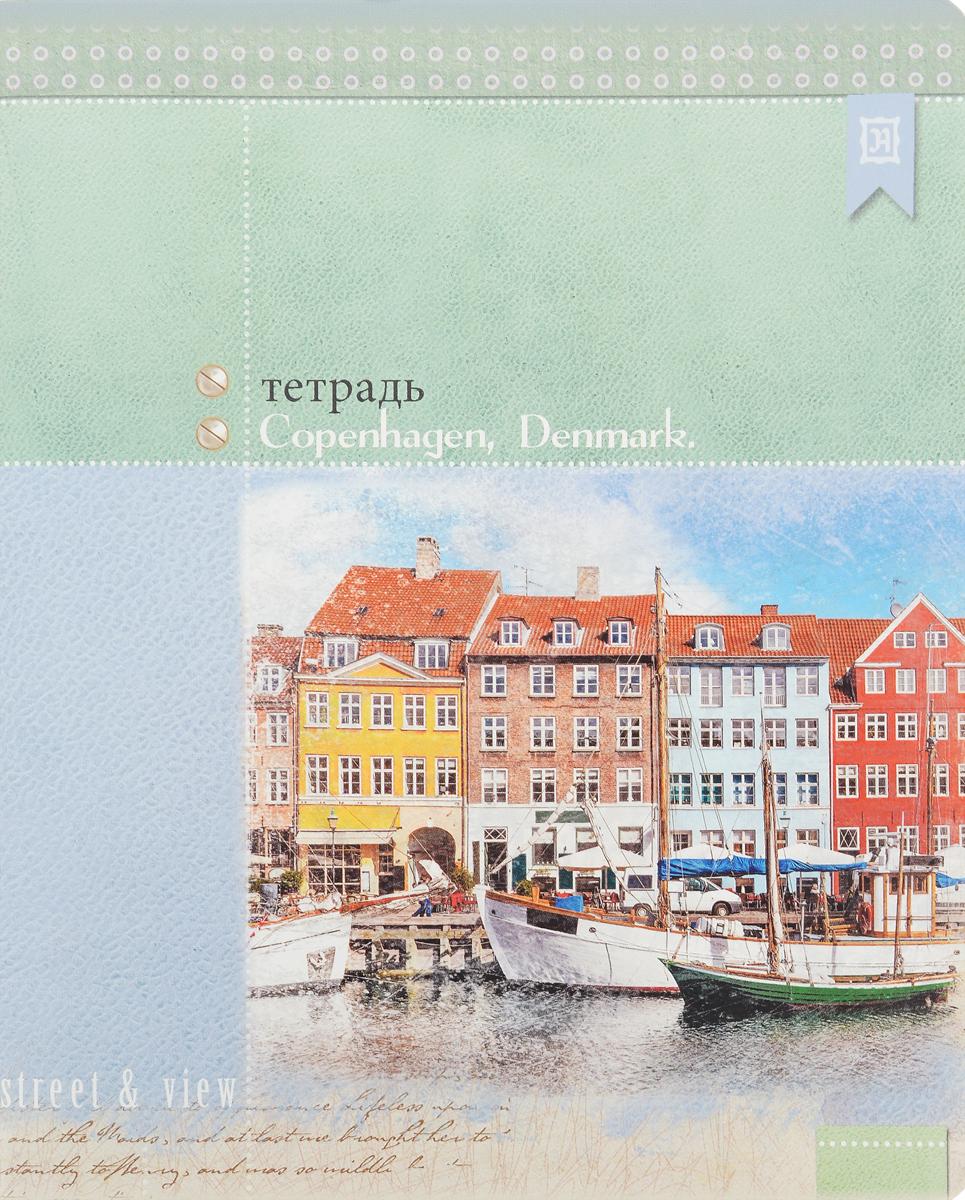 Феникс+ Тетрадь Copenhagen 48 листов в клетку