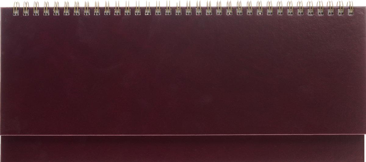 Альт Планинг недатированный 64 листа цвет бордовый