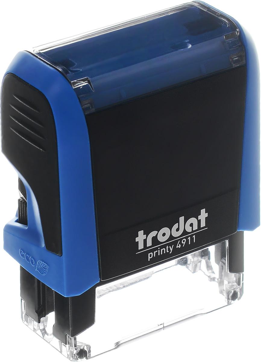 Оснастка для штампа автоматическая 38 х 14 мм цвет синий