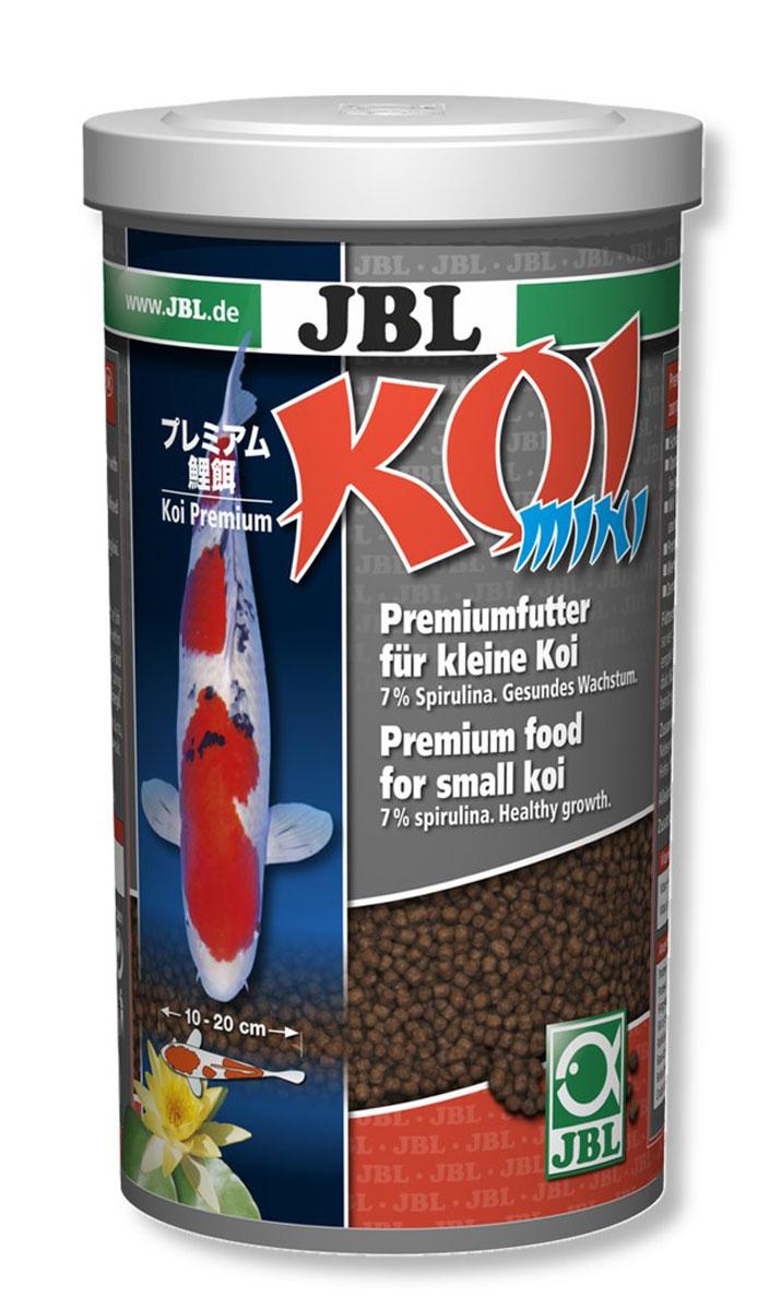 JBL Koi mini Корм в форме гранул для молодых карпов Кои (10-20 см), 1000 мл (420 г)JBL4101100JBL Koi mini - Корм в форме гранул для молодых карпов Кои (10-20 см), 1000 мл. (420 г.)