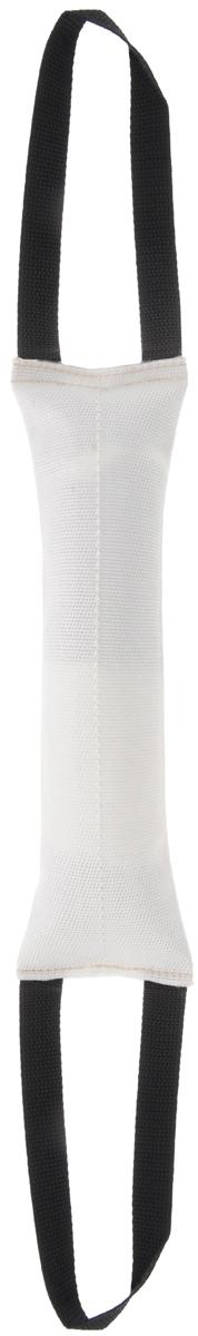 Игрушка для собак OSSO Fashion Кусалка, с двумя ручками, длина 30 см00025082к_темно-коричневыйИгрушка OSSO Fashion Кусалка предназначена для игр и развития спортивных навыков собаки, в том числе для игр, развивающих хватку. Может использоваться в качестве апортировочного предмета. Каркас изготовлен из высококачественного лавсана, а набивка выполнена из полиэтилена. Изделие оснащено двумя удобными ручками. Игрушка OSSO Fashion Кусалка является необыкновенно интересной и привлекательной для собак. Длина игрушки (без учета ручек): 30 см. Длина ручки: 20 см.