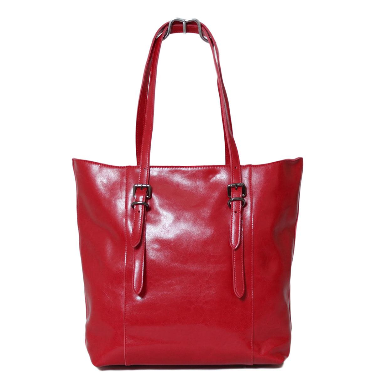 Сумка женская Flioraj, цвет: красный. 0005221300052213Закрывается на молнию. Внутри два отделения, два кармана на молнии, два открытых кармана. Высота ручек - 26 см.