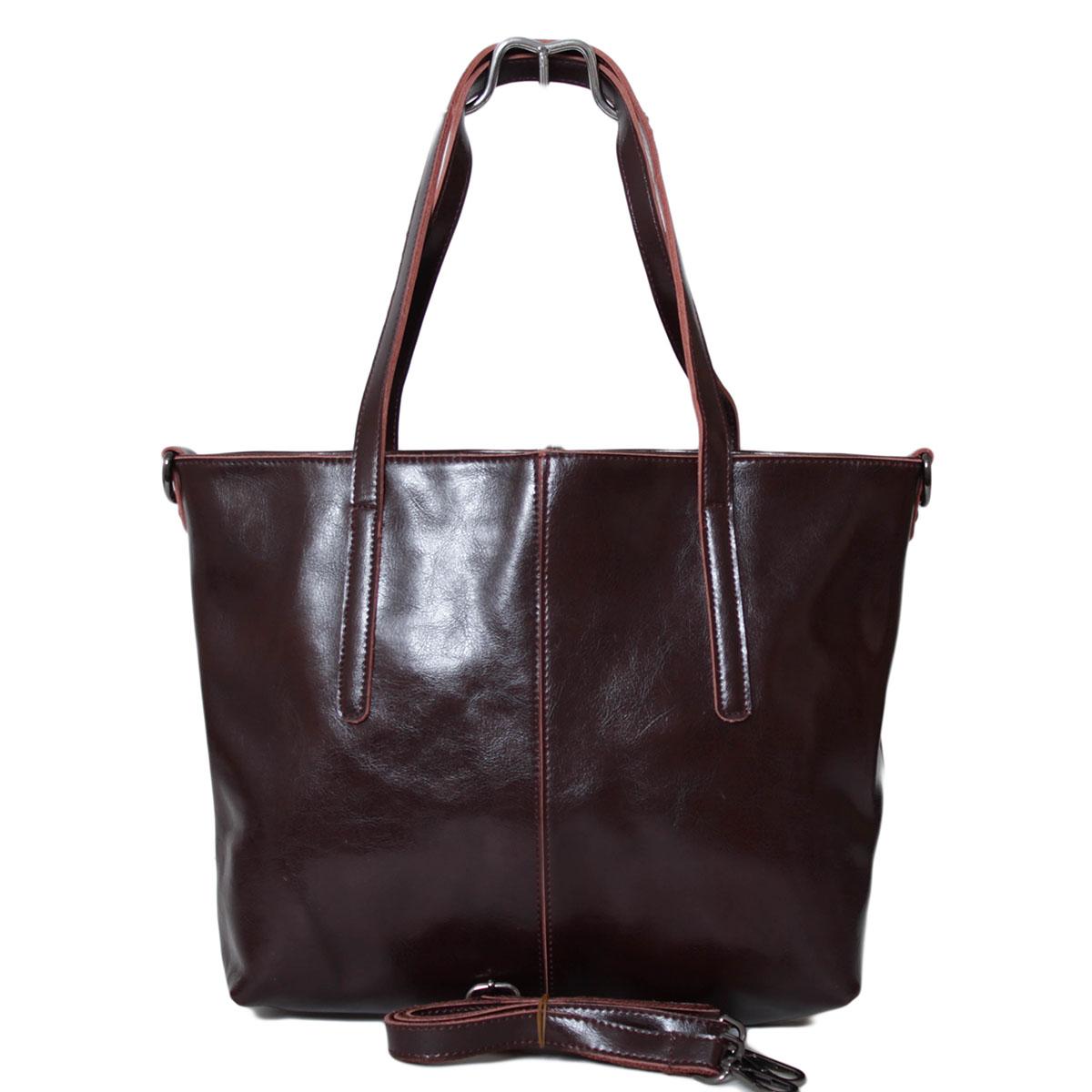 Сумка женская Flioraj, цвет: коричневый. 0005223300052233Два отделения закрываются на молнии. Два открытых кармана. Длинный ремень.