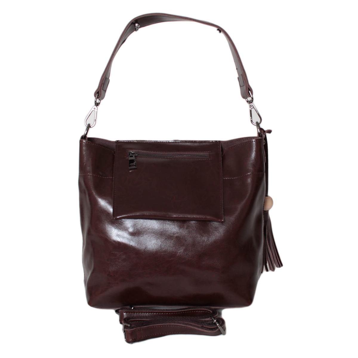 Сумка женская Flioraj, цвет: коричневый. 0005247200052472Закрывается на молнию, внутри 2 отделения, внутри один карман на молнии и два открытых кармана. Длина ручки 22см.