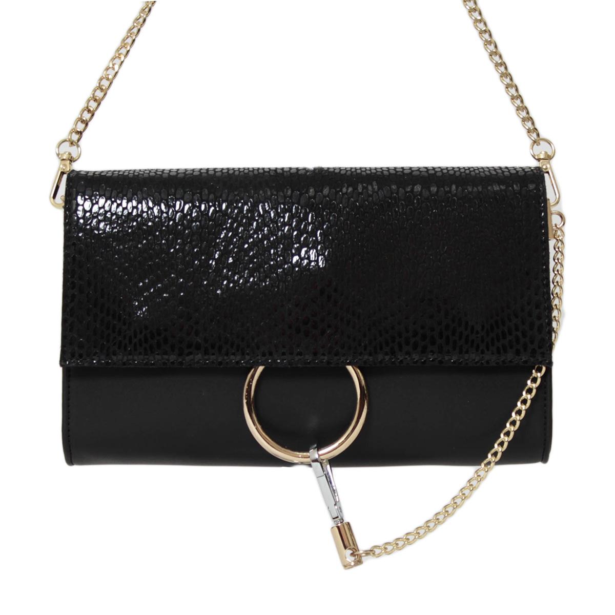 Сумка женская Flioraj, цвет: черный. 0005250500052505Закрывается на декоративный клапан, внутри одно отделение, один карман на молнии и два открытых
