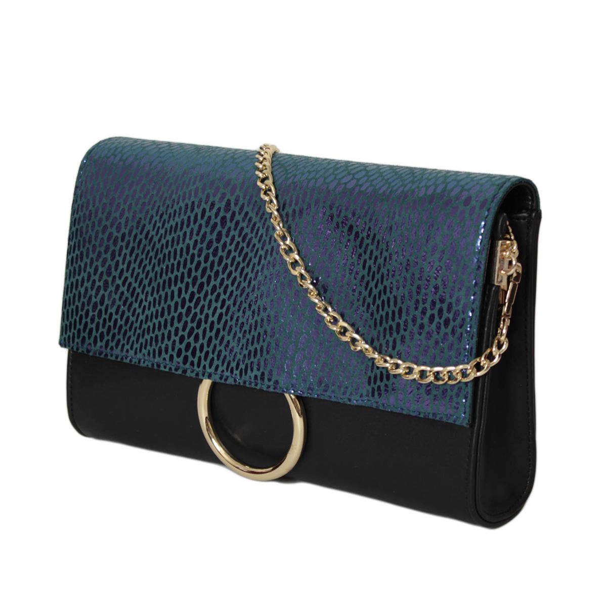 Сумка женская Flioraj, цвет: черный. 0005250700052507Закрывается на декоративный клапан, внутри одно отделение, один карман на молнии и два открытых