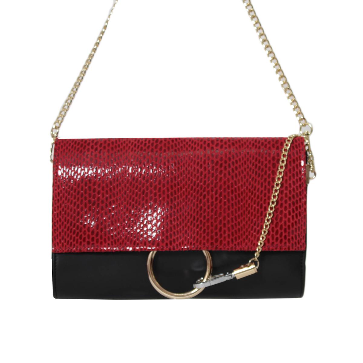 Сумка женская Flioraj, цвет: черный. 0005250800052508Закрывается на декоративный клапан, внутри одно отделение, один карман на молнии и два открытых