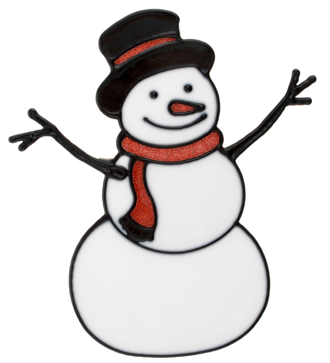 Наклейка на окно Erich Krause Снеговичок, 14,5 х 16 см38179Наклейка на окно Erich Krause Снеговичок выполнена в виде снеговика с красным шарфиком. С помощью больших витражных наклеек на окно Erich Krause можно составлять на стекле целые зимние сюжеты, которые будут радовать глаз, и поднимать настроение в праздничные дни! Так же Вы можете преподнести этот сувенир в качестве мини-презента коллегам, близким и друзьям с пожеланиями счастливого Нового Года! Размер наклейки: 14,5 х 16 см