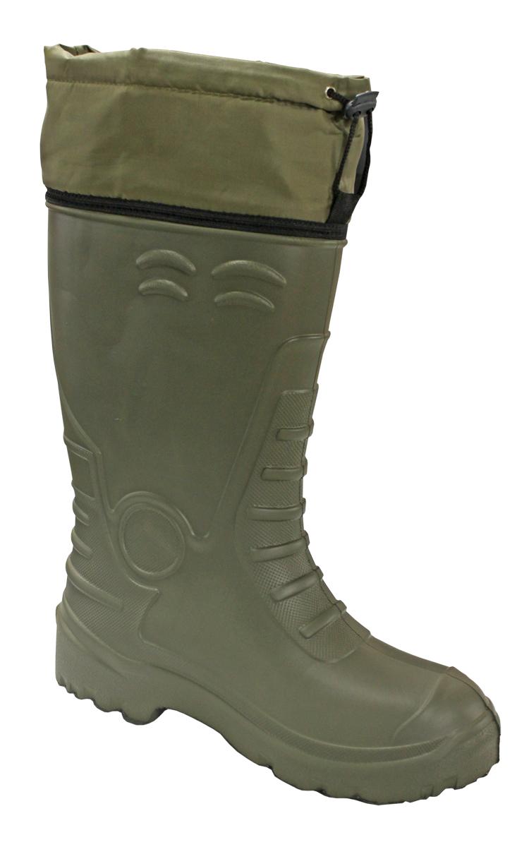 Сапоги зимние EVA Shoes CLASS-AS ЭВА (-40), цвет: олива. Размер 45/46