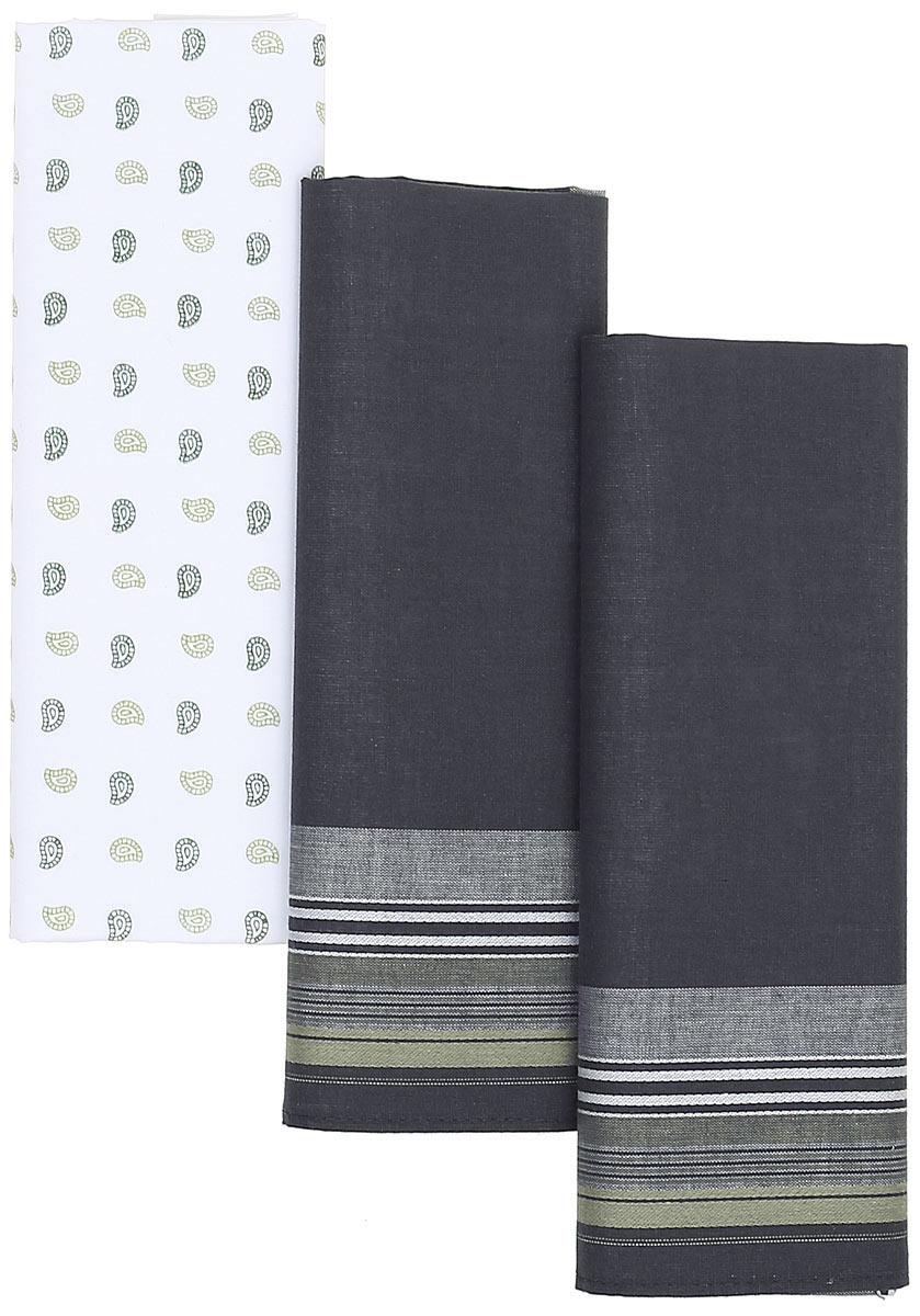 Платок носовой мужской Zlata Korunka, цвет: мультиколор, 3 шт. М39В. Размер 42 х 42 смМ39ВПлатки носовые мужские в упаковке по 3 шт. Носовые платки изготовлены из 100% хлопка, так как этот материал приятен в использовании, хорошо стирается, не садится, отлично впитывает влагу.