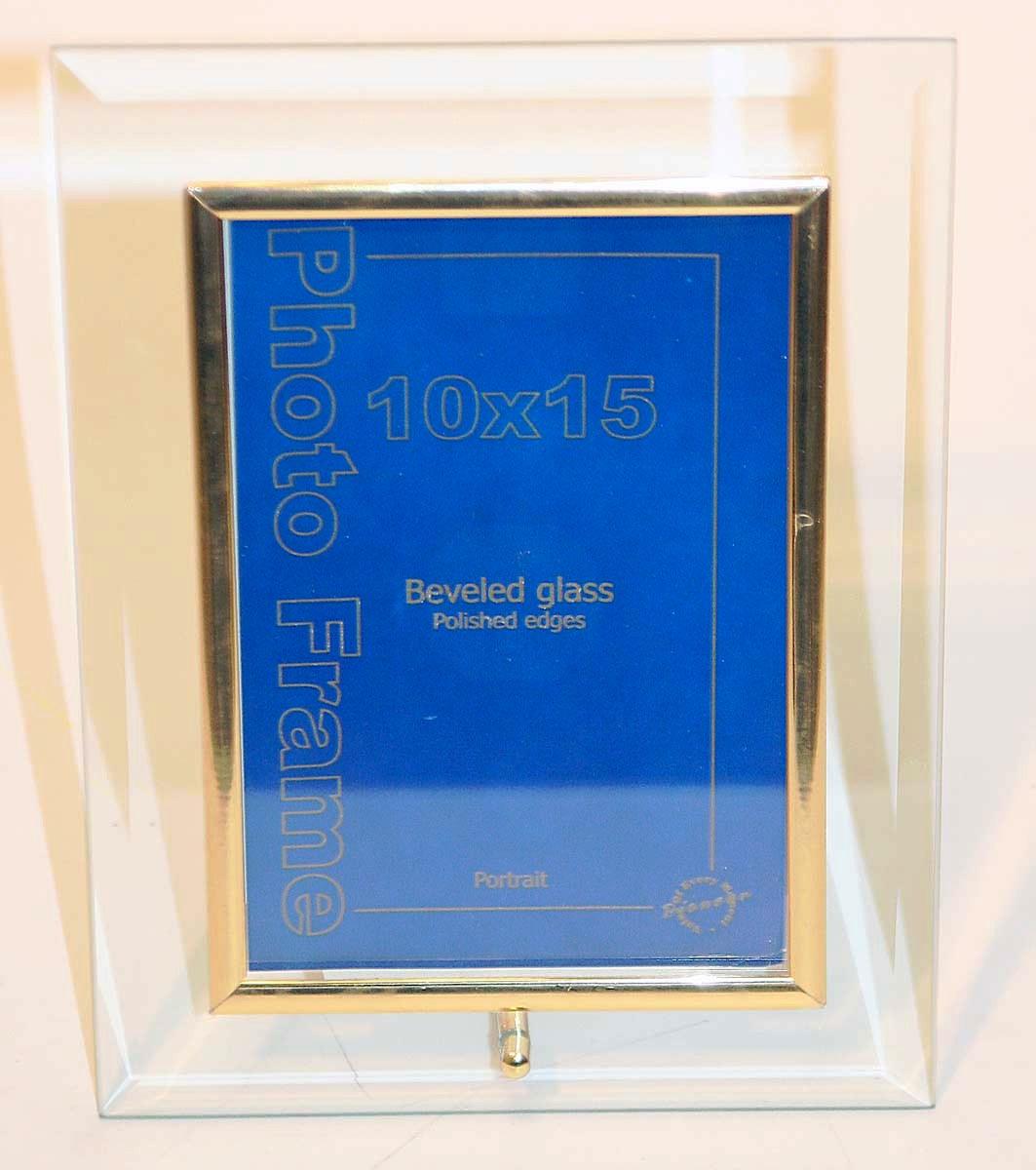 Фоторамка стеклянная Veld-Co, 10 х 15 см8065Фоторамка стеклянная Veld-Co, 10 х 15 см