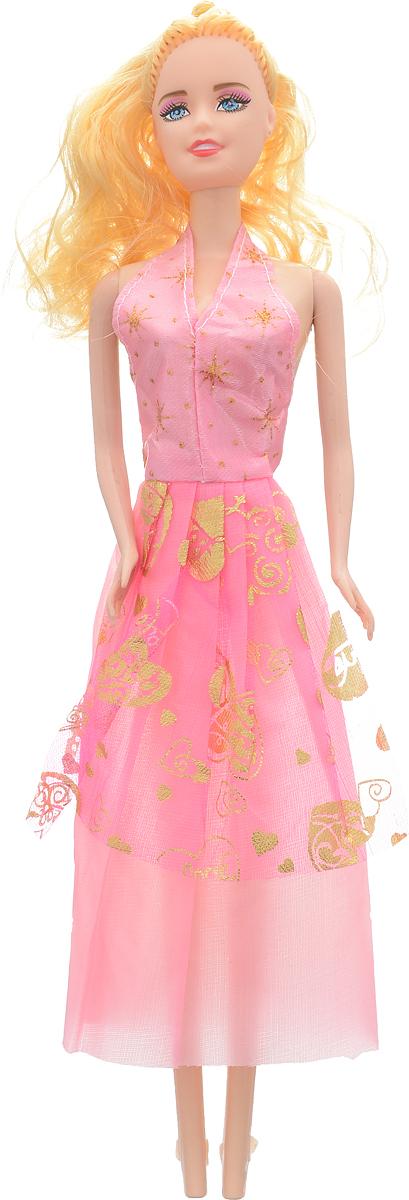Shantou Кукла Angelic Girl цвет платья розовый золотой