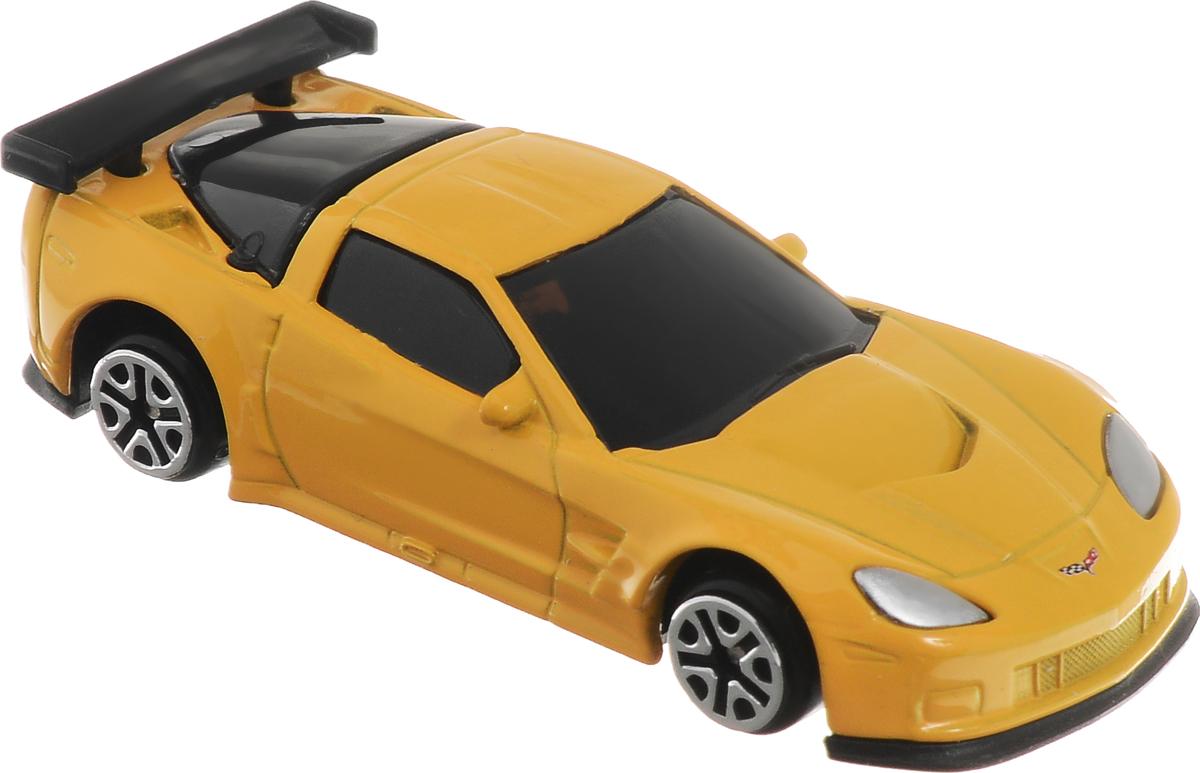 Рыжий Кот Модель автомобиля Chevrolet Corvette C6.RИ-1179_желтыйМодель Chevrolet Corvette C6.R - миниатюрная копия настоящего автомобиля. Стильная модель автомобиля привлечет к себе внимание не только детей, но и взрослых. Масштабная модель в точности воспроизводит оригинальное авто, включая мельчайшие детали интерьера и экстерьера. Повышенную прочность модели обеспечивает металлический корпус. В оформлении использованы пластиковые элементы, колеса обладают свободным ходом. Такая модель станет отличным подарком не только любителю автомобилей, но и человеку, ценящему оригинальность и изысканность, а качество исполнения представит такой подарок в самом лучшем свете.