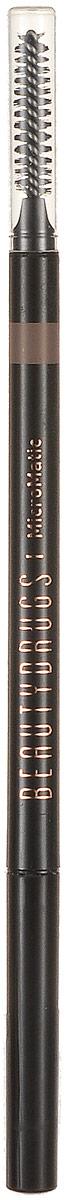 Beautydrugs MicroMatic Механический карандаш Taupe 0,9 гр00049Автоматический карандаш для бровей Beautydrugs Micro Matic имеет тончайший грифель, который не требует затачивания. Наносится легчайшим движением и позволяет прорисовать даже самые тоненькие линии, имитируя настоящие волоски. Карандаш не смазывается и не тускнеет в течение всего дня. Универсальные оттенки подобраны с учетом славянской внешности.