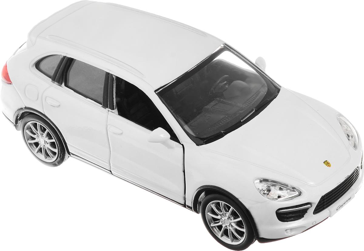 Рыжий Кот Модель автомобиля Porsche Cayenne TurboИ-1205_белыйМодель автомобиля Рыжий Кот Porsche Cayenne Turbo будет отличным подарком как ребенку, так и взрослому коллекционеру. Благодаря броской внешности, а также великолепной точности, с которой создатели этой модели масштабом 1:32 передали внешний вид настоящего автомобиля, машинка станет подлинным украшением любой коллекции авто. Машинка будет долго служить своему владельцу благодаря металлическому корпусу с элементами из пластика. Двери машины открываются. Прорезиненные шины обеспечивают отличное сцепление с любой поверхностью пола. Машинка оснащена инерционным механизмом: достаточно немного отвести машинку назад, а затем отпустить, и она быстро поедет вперед. Модель автомобиля Рыжий Кот Porsche Cayenne Turbo обязательно понравится вашему ребенку и станет достойным экспонатом любой коллекции.