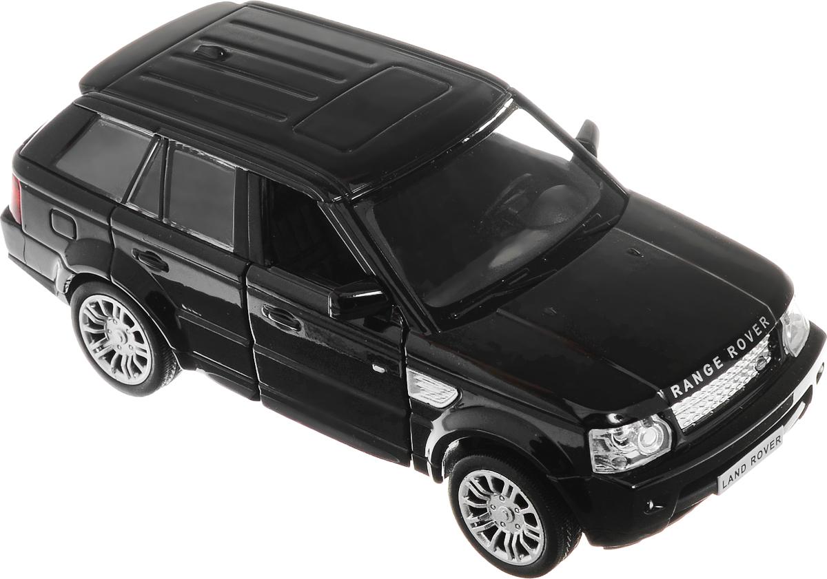 Рыжий Кот Модель автомобиля Land Rover Range Rover SportИ-1223_черныйМодель автомобиля Land Rover Range Rover Sport - миниатюрная копия настоящего автомобиля. Стильная модель автомобиля привлечет к себе внимание не только детей, но и взрослых. Масштабная модель в точности воспроизводит оригинальное авто, включая мельчайшие детали интерьера и экстерьера. Вы можете рассмотреть все, включая двигатель в моторном отсеке и приборную панель автомобиля. Повышенную прочность модели обеспечивает металлический корпус. Передние двери у машинки открываются. У модели имеется функция инерционного движения. Такая модель станет отличным подарком не только любителю автомобилей, но и человеку, ценящему оригинальность и изысканность, а качество исполнения представит такой подарок в самом лучшем свете.