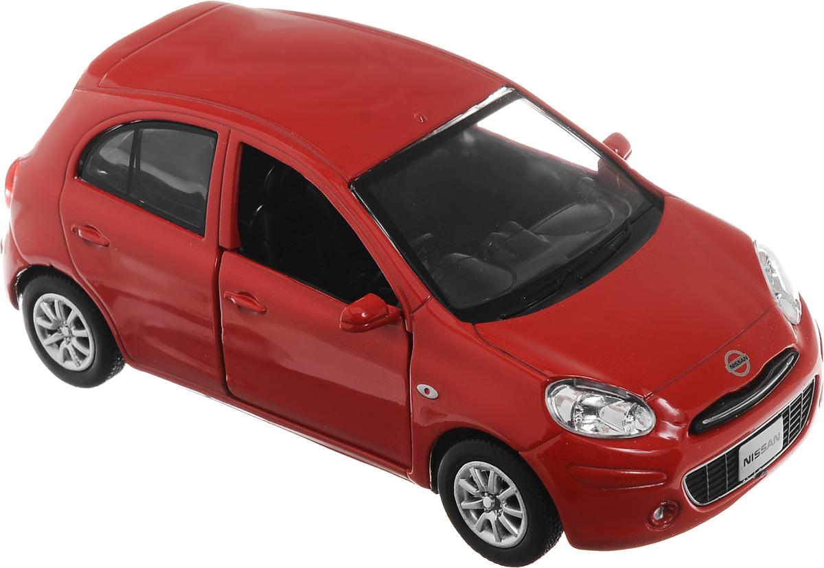 Рыжий Кот Модель автомобиля Nissan MarchИ-1214_красныйМодель автомобиля Nissan March - миниатюрная копия настоящего автомобиля. Стильная модель автомобиля привлечет к себе внимание не только детей, но и взрослых. Масштабная модель в точности воспроизводит оригинальное авто, включая мельчайшие детали интерьера и экстерьера. Вы можете рассмотреть все, включая двигатель в моторном отсеке и приборную панель автомобиля. Повышенную прочность модели обеспечивает металлический корпус. Передние двери у машинки открываются. У модели имеется функция инерционного движения. Такая модель станет отличным подарком не только любителю автомобилей, но и человеку, ценящему оригинальность и изысканность, а качество исполнения представит такой подарок в самом лучшем свете.