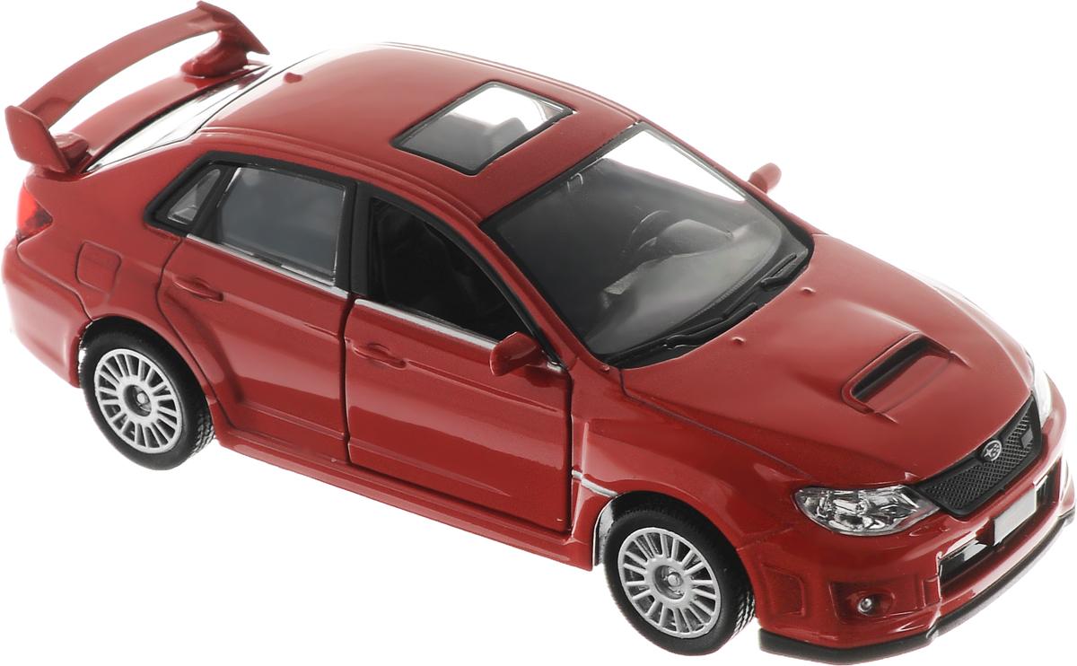 Рыжий Кот Модель автомобиля Subaru WRX STIИ-1213_красныйМодель автомобиля Рыжий Кот Subaru WRX STI будет отличным подарком как ребенку, так и взрослому коллекционеру. Благодаря броской внешности, а также великолепной точности, с которой создатели этой модели масштабом 1:32 передали внешний вид настоящего автомобиля, машинка станет подлинным украшением любой коллекции авто. Машинка будет долго служить своему владельцу благодаря металлическому корпусу с элементами из пластика. Передние двери машины открываются. Прорезиненные шины обеспечивают отличное сцепление с любой поверхностью пола. Машинка оснащена инерционным механизмом: достаточно немного отвести машинку назад, а затем отпустить, и она быстро поедет вперед. Модель автомобиля Рыжий Кот Subaru WRX STI обязательно понравится вашему ребенку и станет достойным экспонатом любой коллекции.