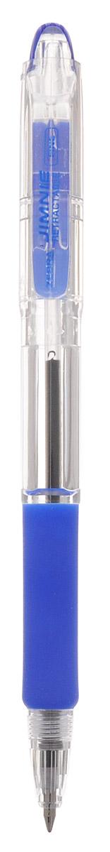 Zebra Ручка шариковая Jimnie Retractable 0,7 мм цвет синий305 113021Автоматическая шариковая ручка Zebra Jimnie Retractable станет незаменимыми атрибутом учебы или работы. Это автоматический вариант шариковой ручки серии Jimnie. Тщательно продуманный эргономичный дизайн, каучуковая подушка для пальцев, пишущий шарик нового поколения, большой пластиковый зажим - ко всем этим достоинствам ручки Jimnie Classic добавляется удобство и функциональность автоматической ручки. Надежная ручка строгого классического дизайна станет верным помощником для студента и офисного работника.
