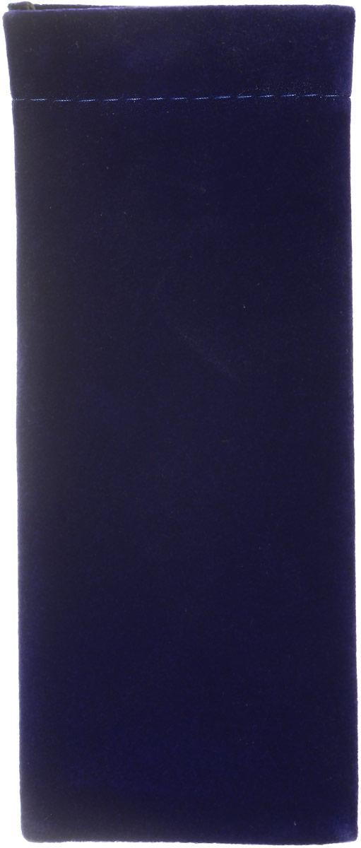 Proffi Home Футляр для очков Fabia Monti, узкий, цвет: темно-синий