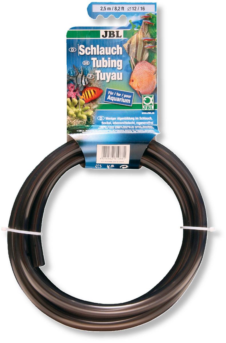 Шланг аквариумный JBL, цвет: серый, диаметр 4-6 мм, 2,5 мJBL6108600Гибкий шланг для воды JBL выполнен из ПВХ. Предназначен для слива воды из аквариумов, соединения фильтрационных систем и помп, а также для других целей. Внутренний диаметр шланга: 4 мм. Внешний диаметр шланга: 6 мм. Длина шланга: 2,5 м.