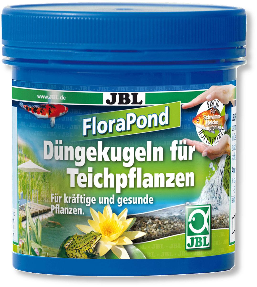 Удобрение для прудовых растений JBL FloraPond, в форме шариков, 8 штJBL2738000Удобрение JBL FloraPond предназначено для всех лилий и болотных растений в садовом пруду. Удобрение представляет собой 8 шариков из глины с основными питательными веществами и микроэлементами. Служит для устойчивой долговременной поддержки растений. Такое удобрение обеспечивает достаточными питательными веществами приблизительно в течении одного года. Обеспечивает рост растений, кроме нежелательных водорослей. Количество шариков: 8 шт.